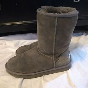 🆕 NWOT UGG  Gray boots Size 7